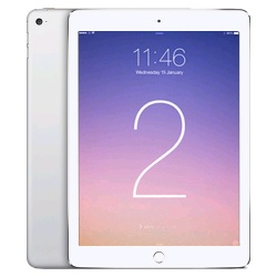 Apple iPad Air2 - 64GB - Silver - WIFI+4G LTE